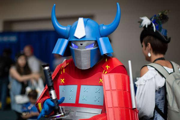 Samurai Optimus Prime
