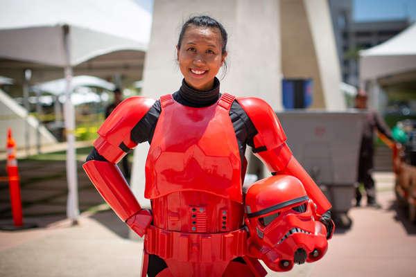 Stormtrooper Unmasked
