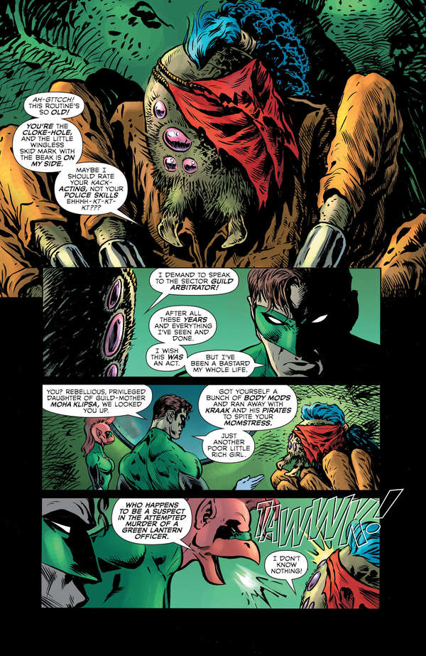 The Green Lantern 2 Page 10 Lettered