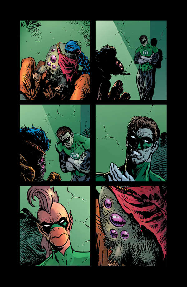 The Green Lantern 2 Page 11 Unlettered