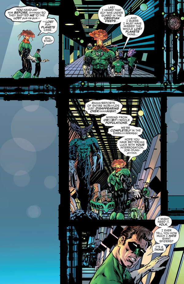The Green Lantern 2 Page 8 Lettered