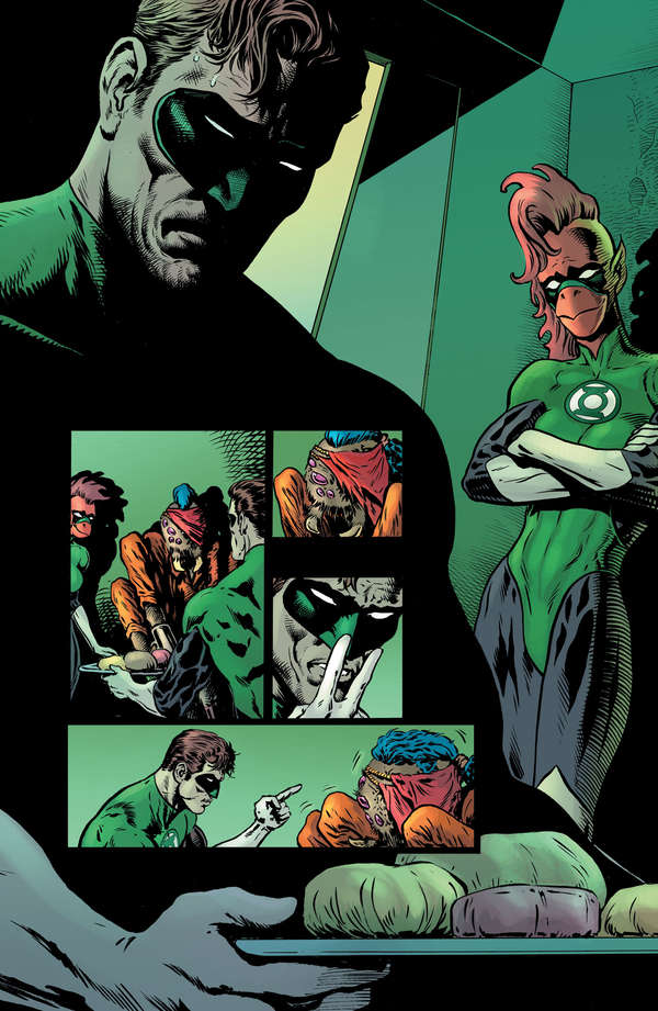The Green Lantern 2 Page 9Unlettered