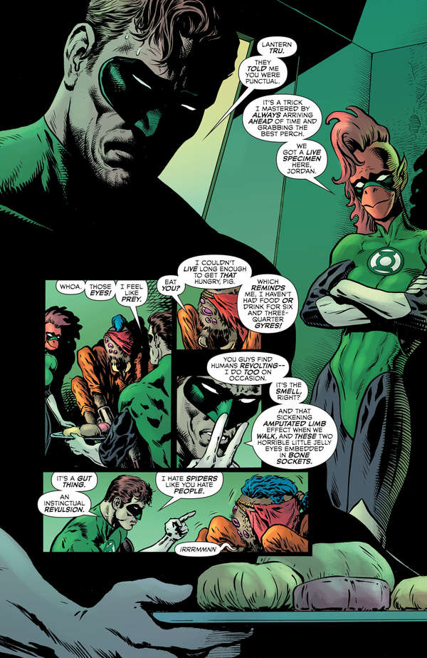 The Green Lantern 2 Page 9 Lettered