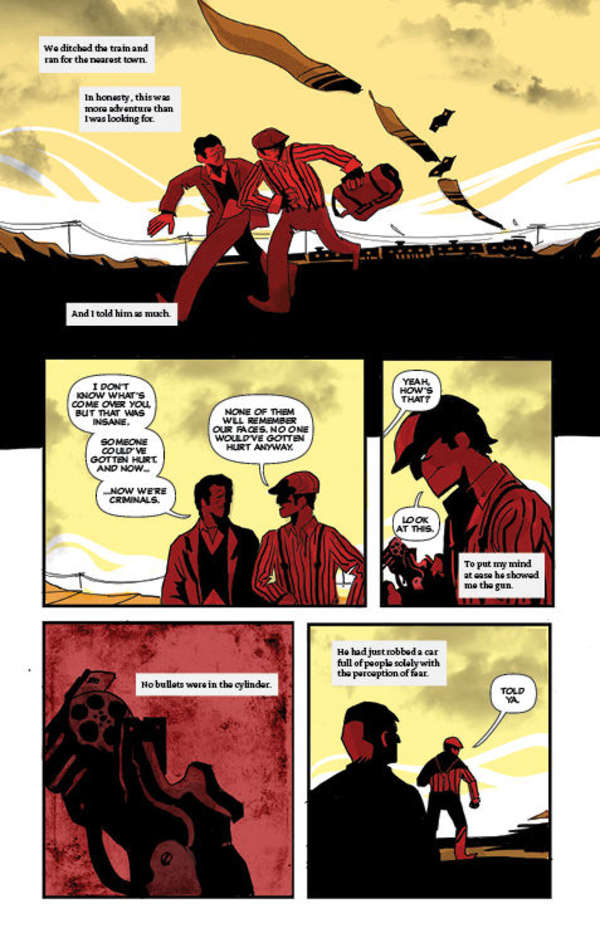 The Dark Gun Part 2 Page 14