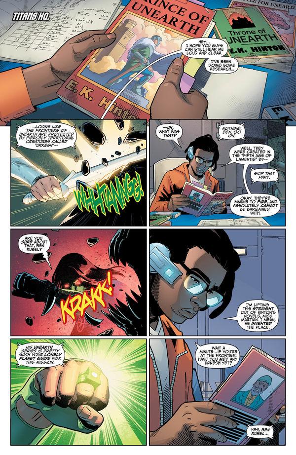 Titans #33 Page 1
