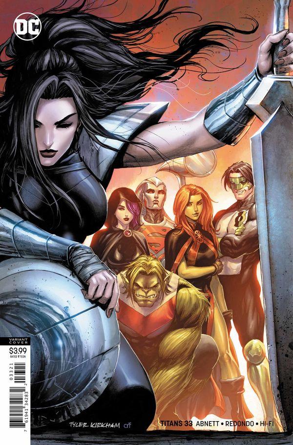 Titans #33 Variant Cover