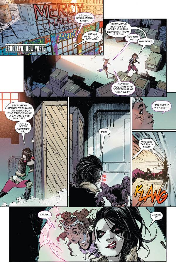 Teen Titans #25 Page 1