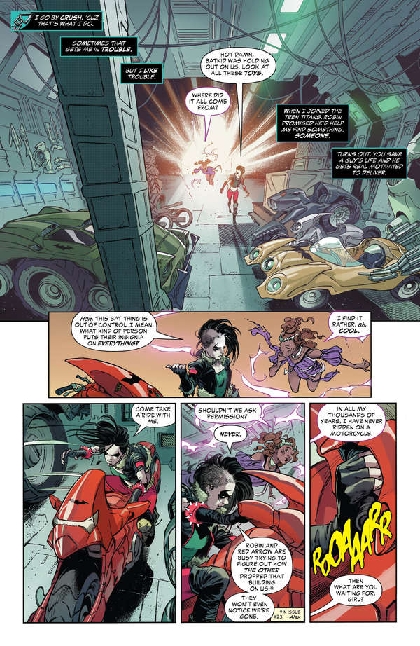 Teen Titans #25 Page 2