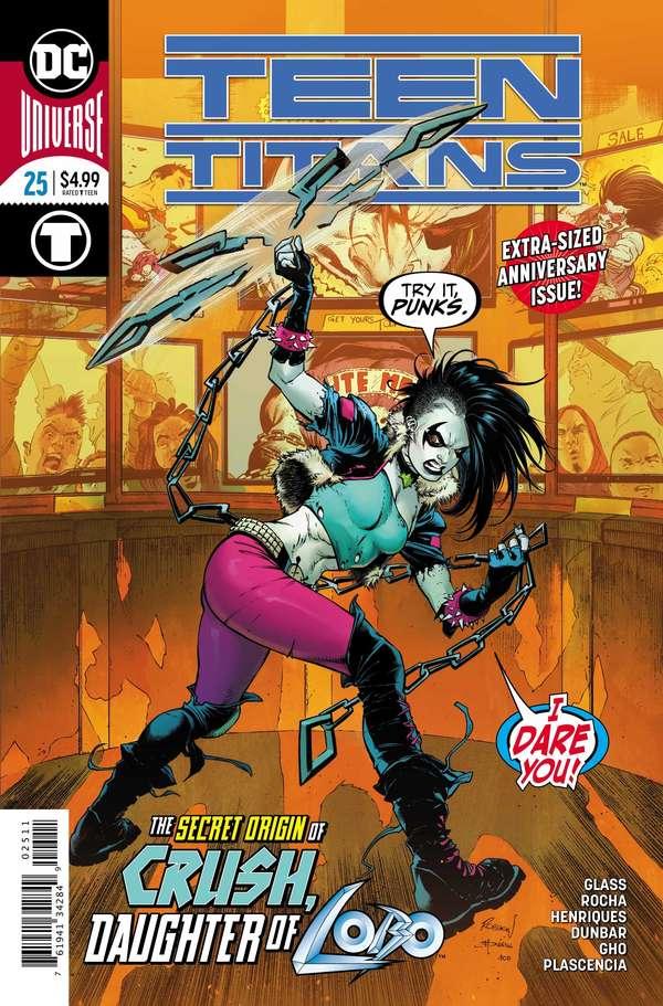 Teen Titans #25 Cover