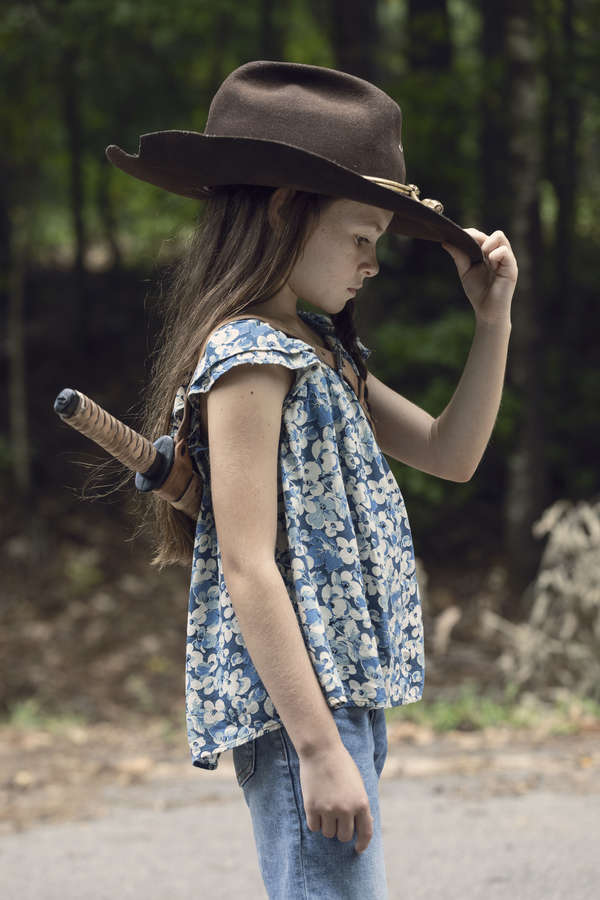Cailey Fleming as Judith- The Walking Dead