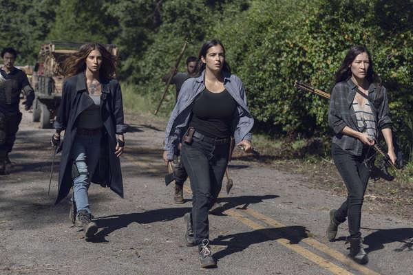 Alanna Masterson as Tara Chambler; group- The Walking Dead