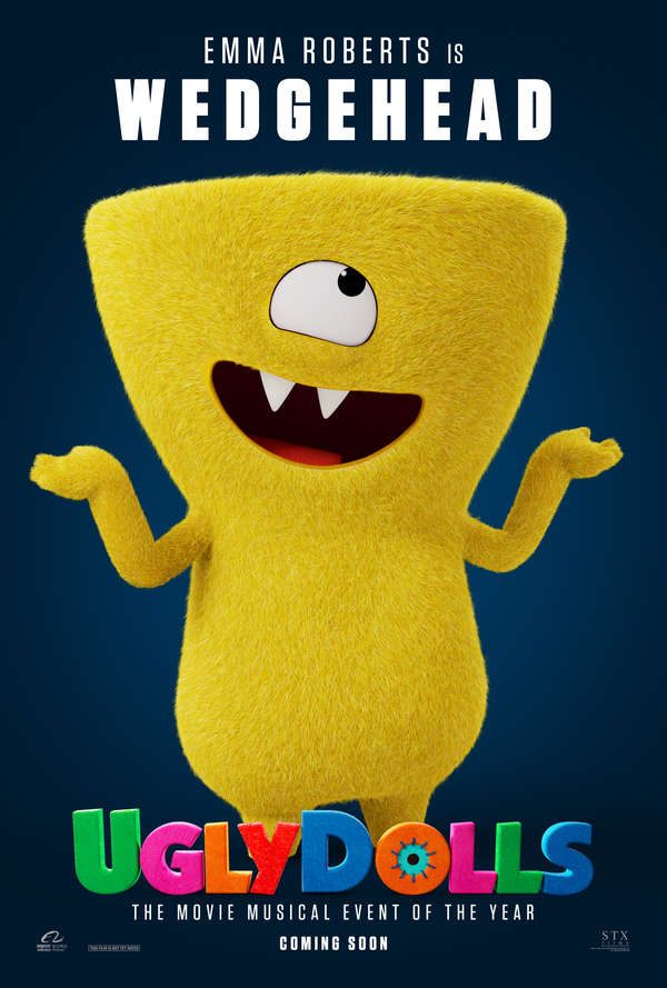 UglyDolls character poster Wedgehead