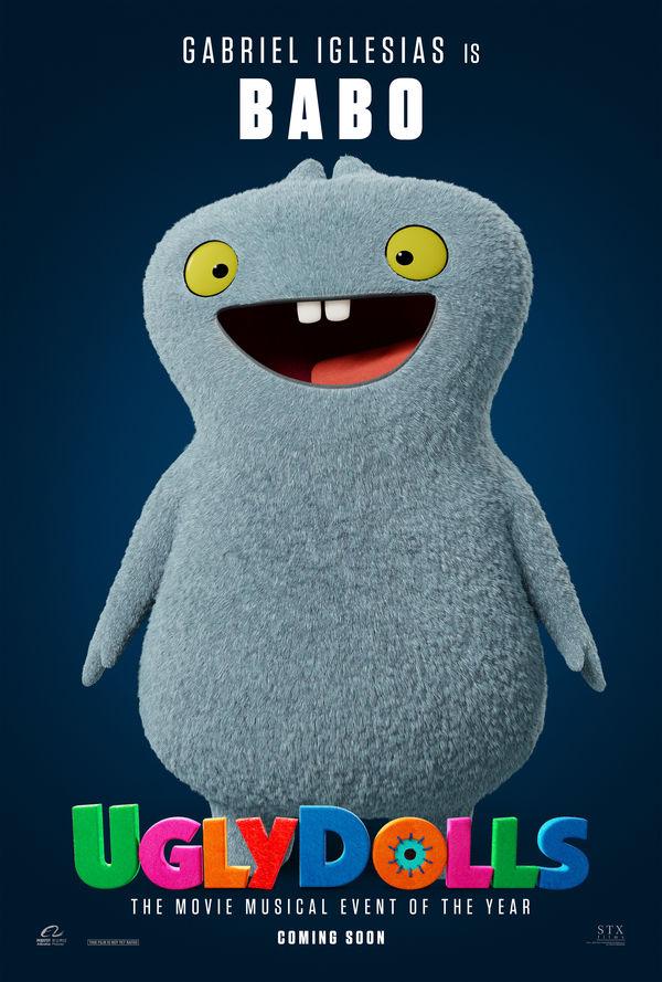 UglyDolls character poster Babo