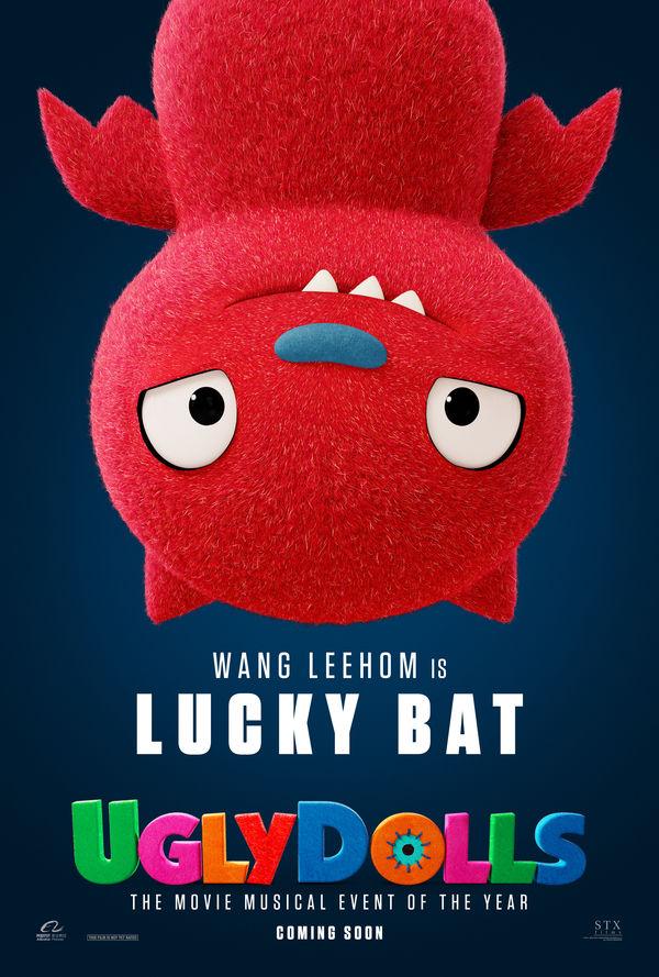 UglyDolls character poster Lucky Bat