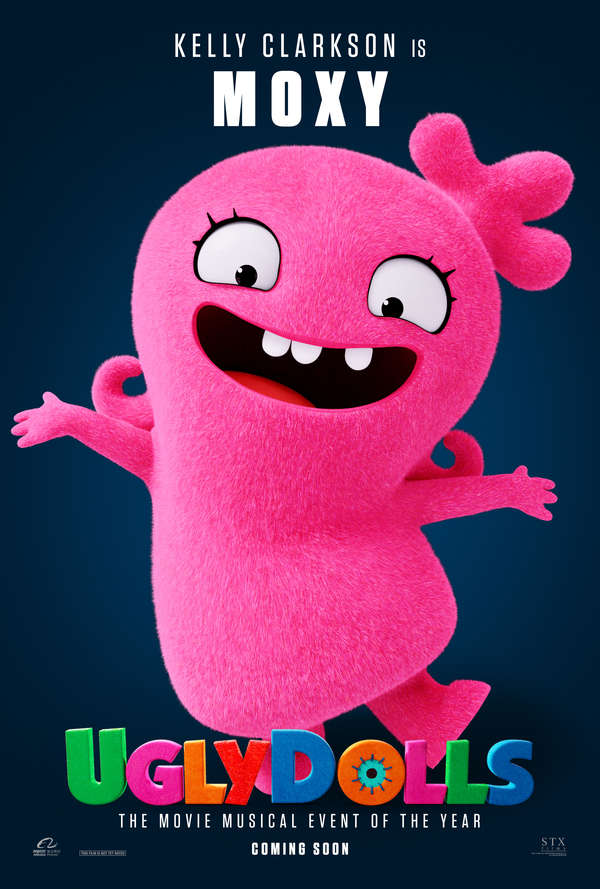 UglyDolls character poster Moxy