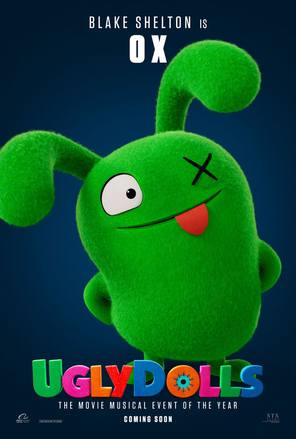 UglyDolls character poster Ox