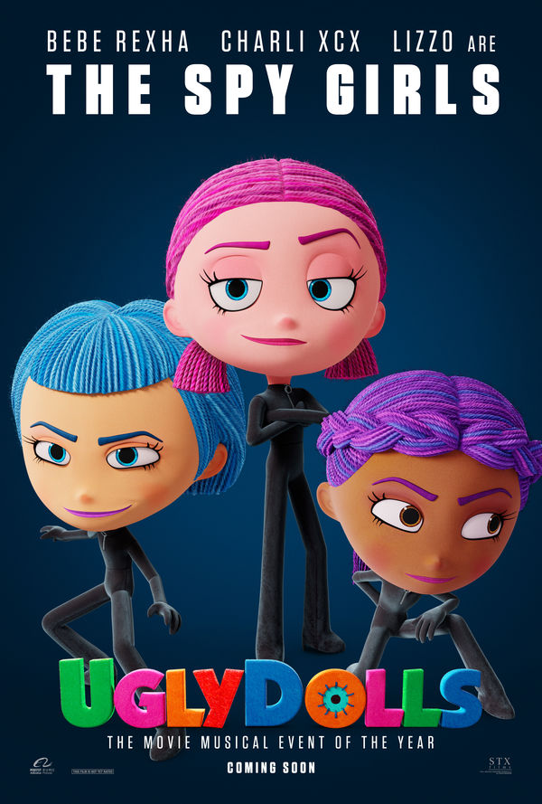 UglyDolls character poster The Spy Girls
