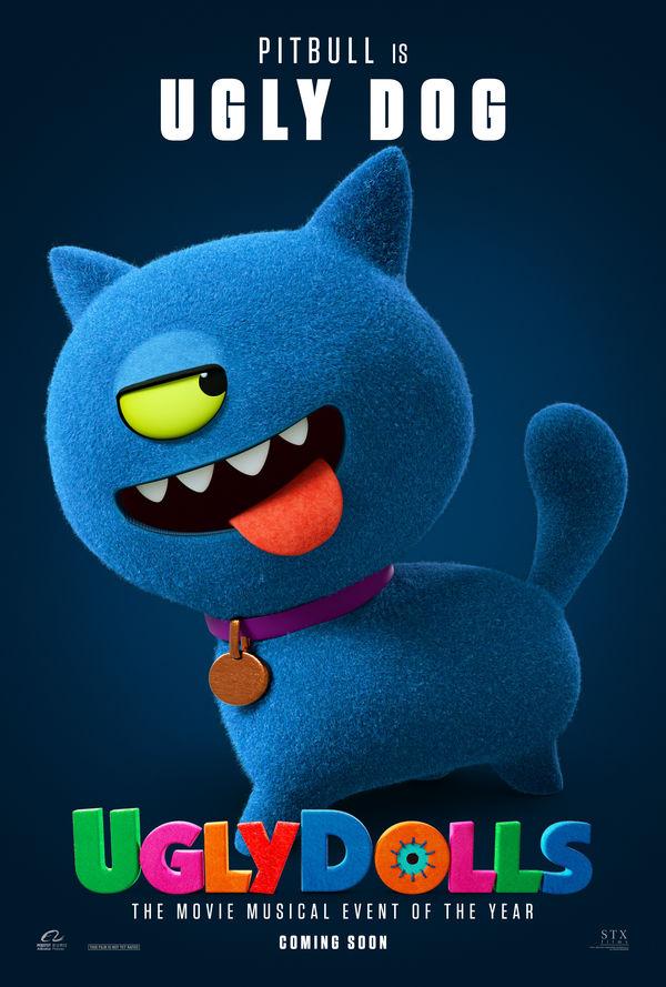 UglyDolls character poster Ugly Dog