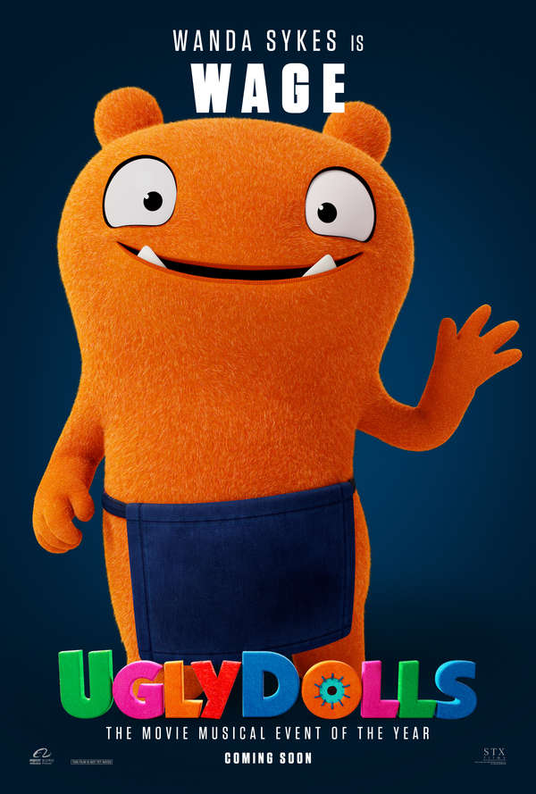 UglyDolls character poster Wage