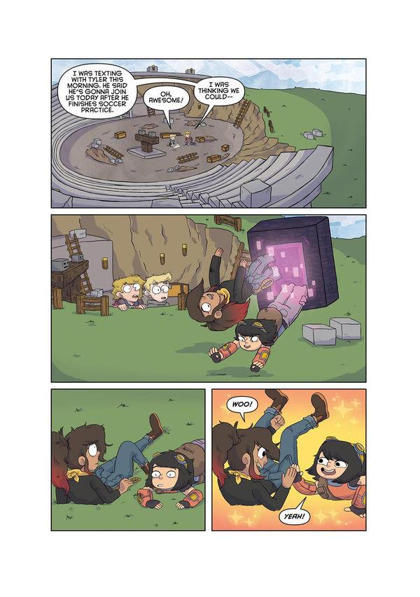 Minecraft comic page 6