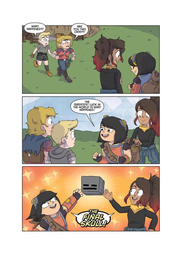 Minecraft comic page 5