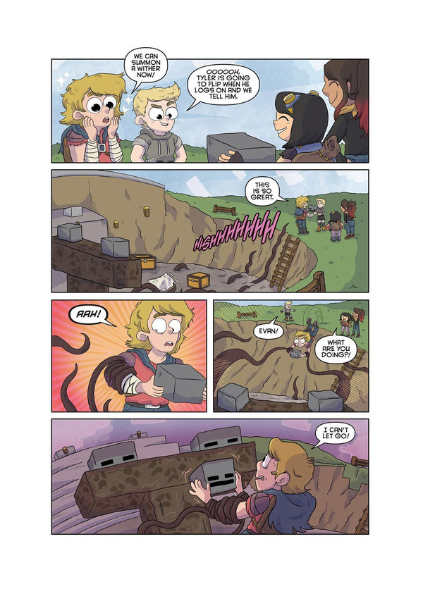Minecraft comic page 4