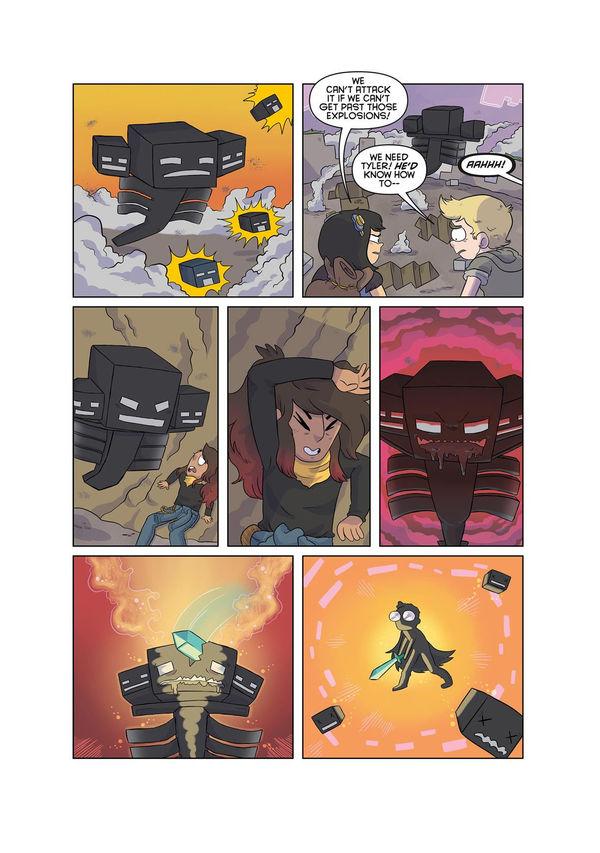 Minecraft comic page 2