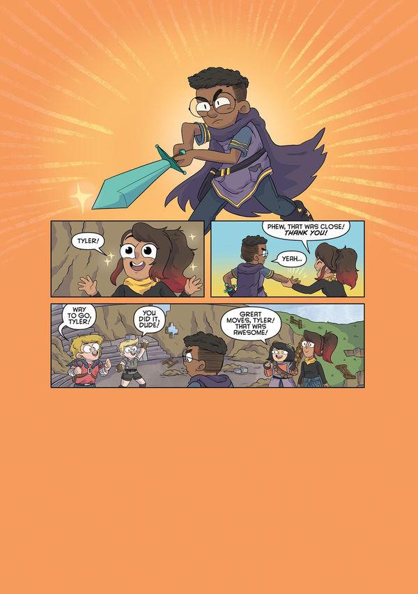 Minecraft comic page 1