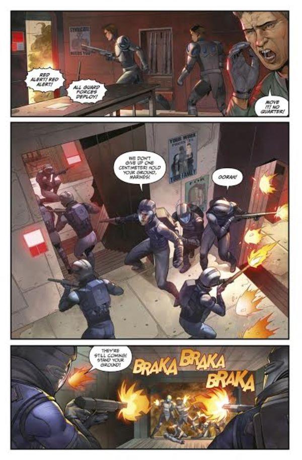 Bloodshot: Rising Spirit #1 David Mack Variant
