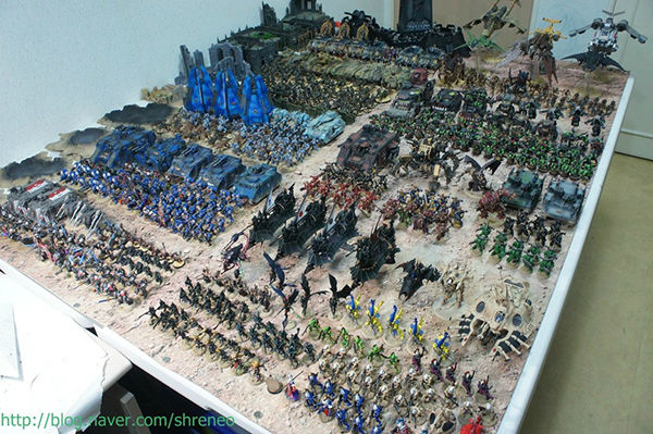 This super-fan's epic Warhammer 40K collection defies belief!
