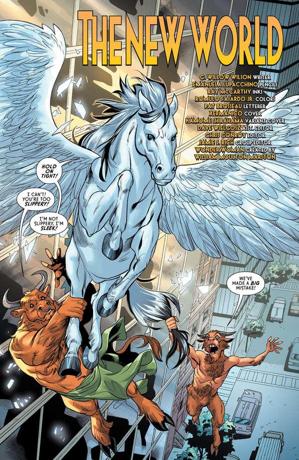 Wonder Woman #63 Page 4