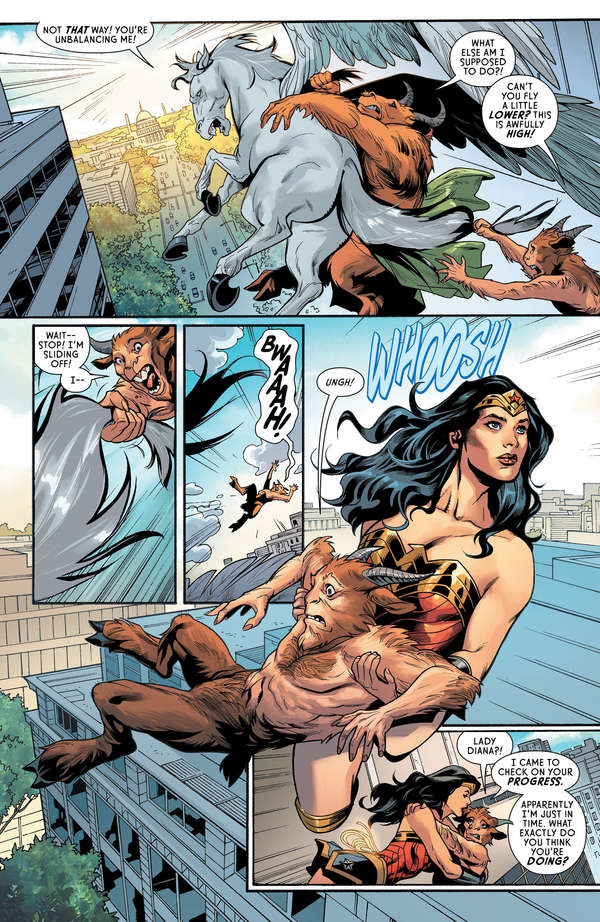 Wonder Woman #63 Page 5