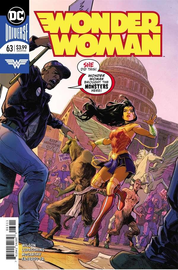 Wonder Woman #63 Regular Cover