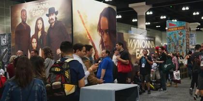 Wynonna Earp at Wondercon!