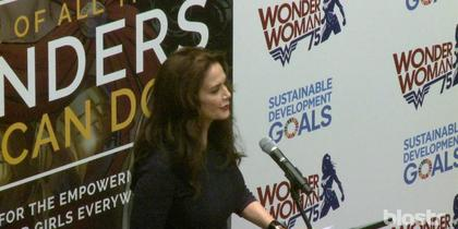 Lynda Carter's Speech on Wonder Woman: Get A Tissue Ready