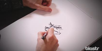 Watch Lee Bermejo draw The Joker
