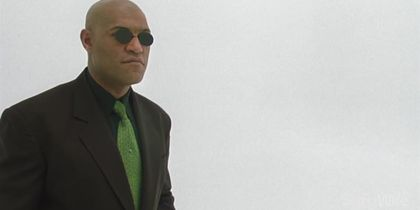 Morpheus from The Matrix: 28 Days of Heroes