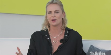 Charlize Theron on Women and Men Competing for Roles
