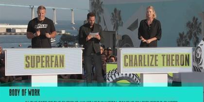 Charlize Theron VS Superfan