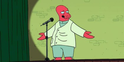 Zoidberg the Comedian