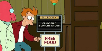 Support Group for the Cryogenically Frozen