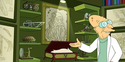 Da Vinci's Beard