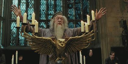 Creating the Magic - Dressing Dumbledore