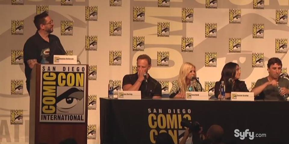 San Diego Comic - Con Sharknado 3 Panel Highlight: Inspire - nado