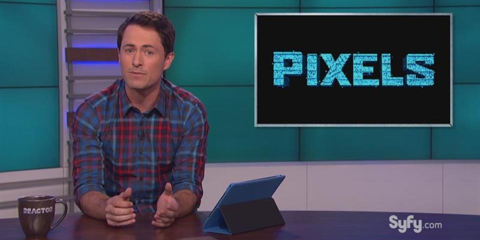 David's Version of Pixels: The Movie
