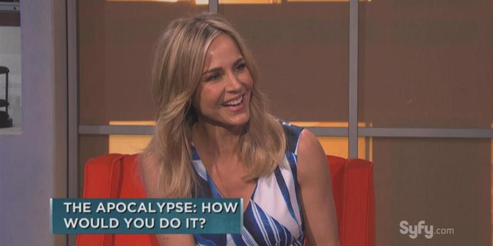 Bonus Scene: More Julie Benz