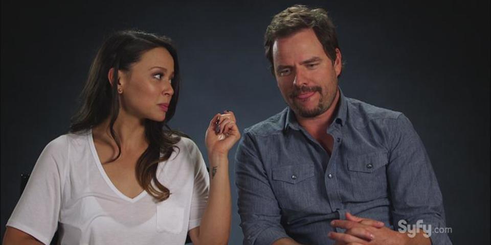 Dark Matter Cast as Gilligan's Island Castaways