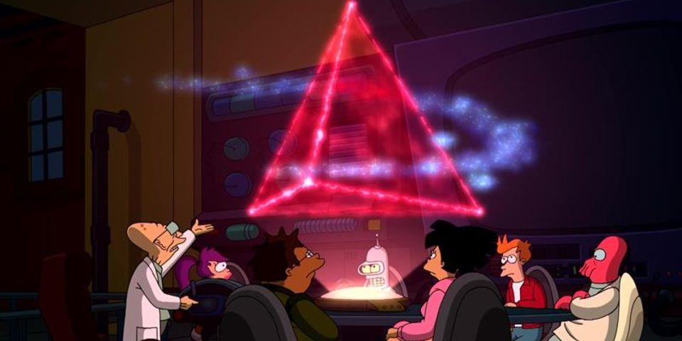 The Bermuda Tetrahedron