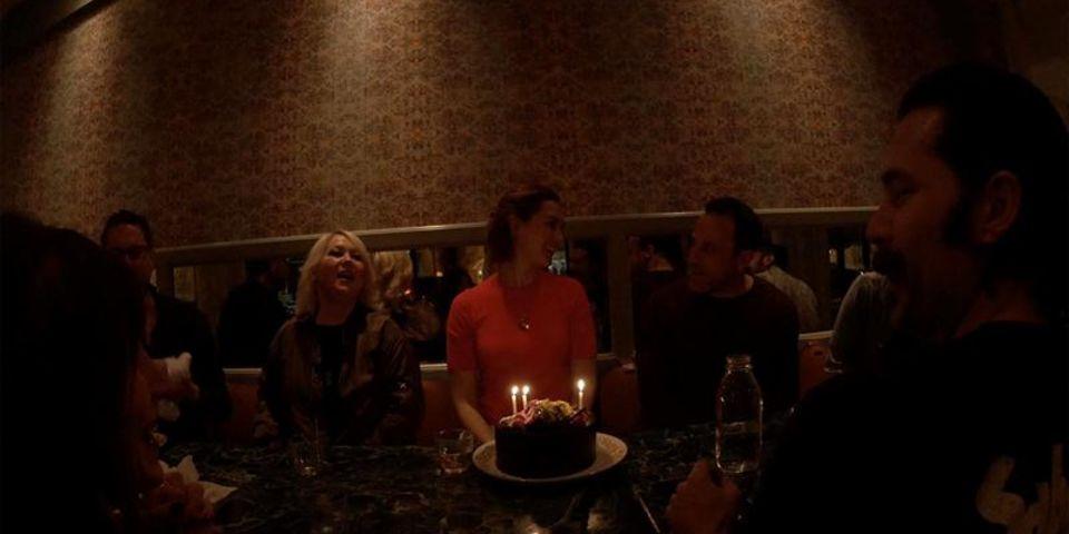 Behind the Scenes: Happy (Belated) Birthday, Kat Barrell!