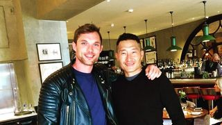 Daniel Dae Kim and Ed Skrein